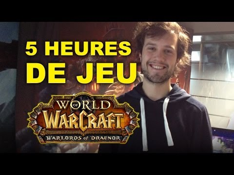 Blizzard press tour - J'ai été invité à tester Warlords of Draenor dans les locaux de Blizzard lors d'un press tour. J'ai eu l'occasion de jouer à l'extension pendant plus de 5 he...