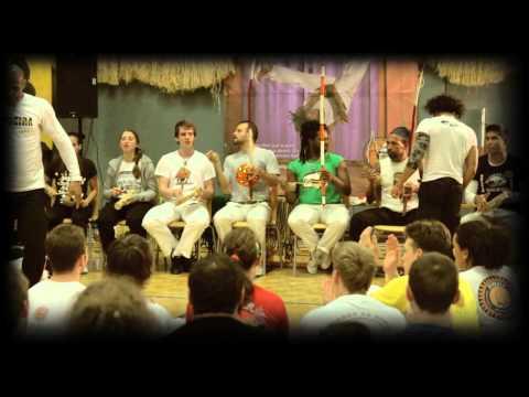 Mestre Sampaio and Mestre Camaleao, Capoeira Linz 2013