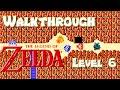 The Legend of Zelda (NES) Gameplay & Full Walkthrough of Level 6 Dungeon