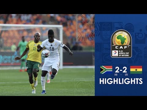 HIGHLIGHTS | #TotalAFCONU23 | 3rd and 4th place: South Africa 2 (6) - (5) Ghana