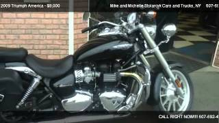 9. 2009 Triumph America  - for sale in Whitney Point, NY 13862