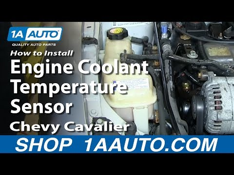 How To install Replace Engine Coolant Temperature Sensor 1995-02 Chevy Cavalier 2.2L