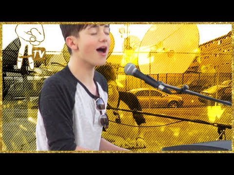 Greyson Chance - watch Greyson Chance sing an awesome cover of Fleetwood Mac's 