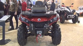 10. BRP Can-Am Outlander MAX Pro+ 650 T (2019) Exterior and Interior