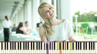 "Ах, какая женщина - гр. ""Фристайл"" (Караоке) (piano cover)"