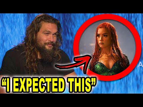Jason Momoa Speaks On Amber Heard Being Replaced From Aquaman 2!?