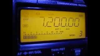 7200kHz Non-stop Music Etiopia Or Eritrea Or Sudan ???