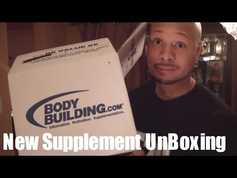 "New Bodybuilding Supplement Unboxing ""Skinny Guy Bulking Help"""