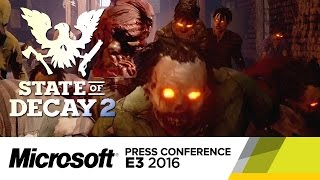 State of Decay 2 - Official E3 2016 Announcement Trailer by GameSpot