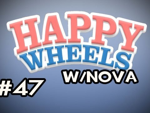 Happy Wheels w/Nova Ep.47 - Biggest Slide EVER & Obstacle Course Trials Video