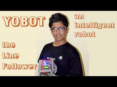 Yobot - The Line Follower