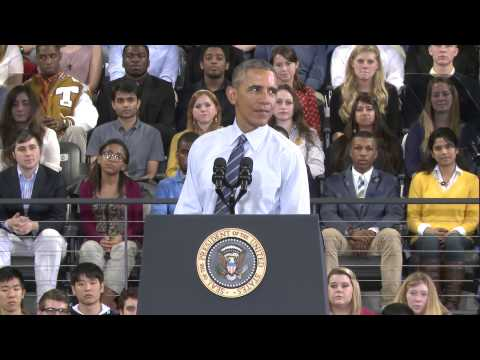 President Obama's Georgia Tech Speech In Brief