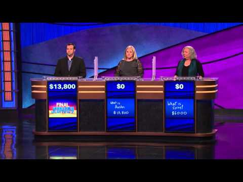 No one wins Jeopardy  @broomheadshow
