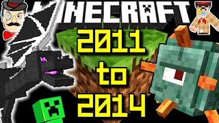 Minecraft LIFE HISTORY: 2011 TO 2014! What's Changed?