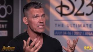 Video Josh Brolin Says Playing Thanos Is Emotional, Deadpool 2 Is Funnier Than The Original MP3, 3GP, MP4, WEBM, AVI, FLV Juli 2018