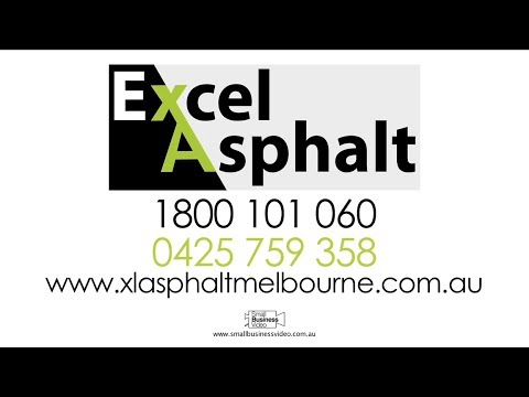 Excel Asphalt Video - Asphalt Specialists - Melbourne