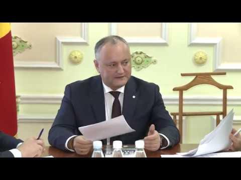Șeful statului a convocat o ședință cu privire la totalizarea Anului lui Ștefan cel Mare și Sfînt