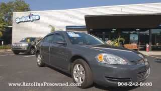 Autoline Preowned 2008 Chevrolet Impala LT For Sale Used Walk Around Review Test Drive Jacksonville