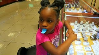 Camari got her Gold Grillz molded  they ended up having an Epic Dance Battle!