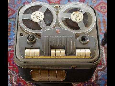 """""""Spolebåndoptageren var et scoop. Man kunne nu optage musik fra radioen og lave sine egne festbånd."""""""