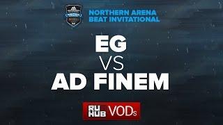 Evil Geniuses vs Ad Finem, NA Arena Beat Invitational [Lex, 4ce]