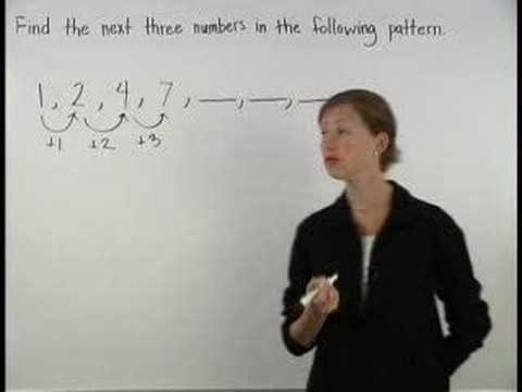 Number Patterns Video