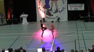 Tanja Wandera & Pascal Lenz - Nordbayerische Meisterschaft 2014