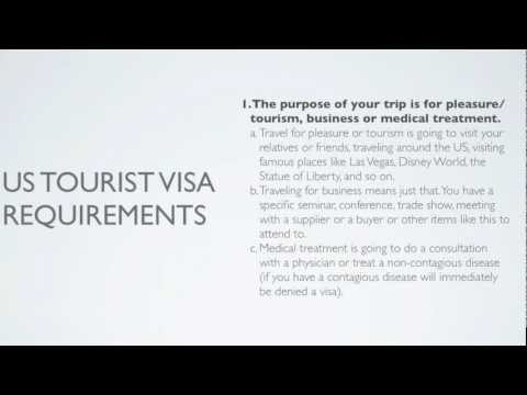 Top 3 US Tourist Visa Requirements without insane stress