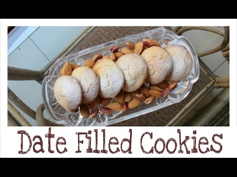 Date Filled Cookies   Diwali Special   Eggless Baking   Bakelicious (видео)