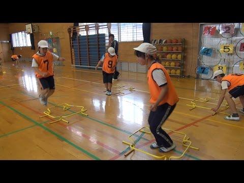 サーキットトレーニングで楽しく身体を動かそう 竹田市立南部小学校 体育専科教員