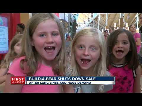 Build-a-bear shuts down sale