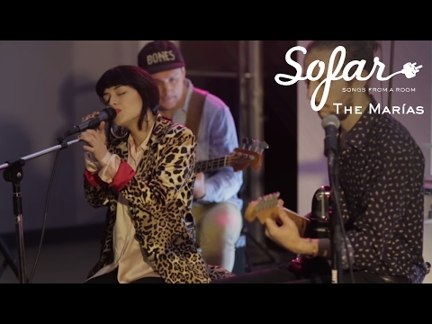 The Marías - I Don't Know You | Sofar Los Angeles