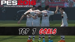 ► Pro Evolution Soccer 2016  World Soccer Winning Eleven 2016 ► Watch in 1080p► Playlist: http://bit.ly/1EoaqeTMy top 7 goals after a few hours play time of the demo.Meine top 7 Tore nach paar Stunden Spielzeit der Demo.Difficulty - Schwierigkeit: SuperstarGoal Scorer  Torschützen:7. Thomas Müller6. Robert Lewandowski5. David Alaba4. Thomas Müller3. Mario Götze2. Robert Lewandowski1. Mario Götze_______________________________________Follow us on: Twitter: http://twitter.com/moebotzzFacebook: http://www.facebook.com/moebotzzGoogle+: http://bit.ly/1sAoeyx_______________________________________HUMAN MOTION AND NEW CELEBRATION FEATURE!PES 2016 will provide an added level of realism with 3x animations and celebration control! Seeking to humanize player movement, PES 2016 introduces the Human Motion Feature, which adds 3x as many animations, helping bring the superstars to life in our new football game! The new animations will not only add a never before seen level of realism to PES 2016's game-play but also will bring some personality into the players on the pitch.Players can now be seen complaining when a foul isn't given or lamenting a missed pass opportunity by a team mate. Goalkeepers have also seen an abundance of save animations added, while outfield players shoot, pass, dribble and tackle in a countless variety of ways, depending on the situation.But not only will the players on the pitch be able to express their personality, but new to the series, PES 2016 will now allow you, the player, to actually choose your own celebration after scoring a goal! Prompts will appear after you score to trigger either a trademark celebration or unique actions at the press of a button!Even the ball physics have been completely revamped this year, with each spin, bobble and ricochet having been calculated using real ball physic data, helping keep every moment in every game unique and unpredictable.So get ready for the most realistic football simulator of the decade with PES 2016!LEBENSECHTE BEWEGUNGEN UND NEUE JUBELFUNKTION!PES 2016 bietet einen nochmals gesteigerten Realismus mit dreimal so viel Animationen und einer neuen Jubelkontrolle! Um die Spielerbewegungen noch lebensechter zu gestalten, verwenden wir in PES 2016 die dreifache Anzahl an Animationen, um Superstars in unserem neuen Fußballspiel wirklich zum Leben zu erwecken! Die neuen Animationen erweitern das Gameplay von PES 2016 nicht nur mit völlig neuem Realismus, sondern verleihen auch den Spielern auf dem Platz Persönlichkeit.Spieler beschweren sich zum Beispiel, wenn ein Foul nicht gegeben wurde, oder beklagen sich, wenn ein Teamkollege eine Möglichkeit zum Passspiel nicht genutzt hat. Die Torhüter haben eine Vielzahl neuer Paradenanimationen erhalten, während Spieler auf dem Platz je nach Situation in unzähligen Varianten schießen, Pässe spielen, dribbeln oder Tacklings ausführen.Die Spieler auf dem Platz werden aber nicht nur die Möglichkeit haben, ihre Persönlichkeit zum Ausdruck zu bringen. In PES 2016 kannst du jetzt sogar nach einem Torschuss deinen ganz persönlichen Jubel auswählen! Nach einem Tor erscheinen Aufforderungen, um einen bekannten Jubel oder individuelle Aktionen per Tastendruck auszulösen.Selbst die Ballphysik wurde in diesem Jahr komplett überarbeitet. Jede Drehung, jedes Springen und jedes Abprallen wurde mithilfe echter Ballphysikdaten berechnet, um jeden Moment in jedem Spiel einzigartig und unvorhersehbar zu machen. Mach dich bereit für die realistischste Fußballsimulation des Jahrzehnts – PES 2016!https://pes.konami.com_______________________________________Music: Kontinuum - Aware_______________________________________pes 2016 top 10 goalspes 2016 top 5 goalspes 2016 top 3 goalspes 2016 goals montagegoles en pes 2016 golazos pes 2016 top but pes 2016pes 2016 meilleur butpes 16