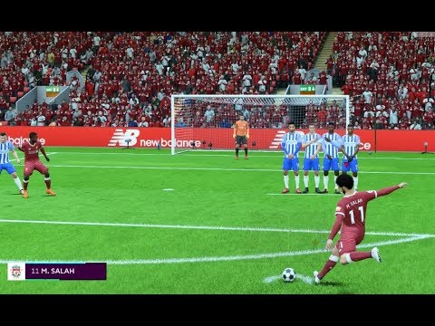 FIFA 18 Liverpool Career Mode | SALAH FREE-KICK AMAZING GOAL | KING OF EGYPT BACK WITH A BANG | #45
