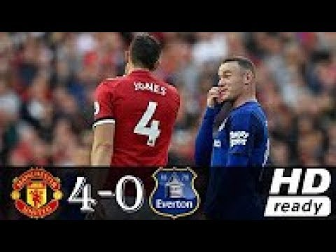 Manchester United Vs Everton 4-0 - All Goals & Extended Highlights - Premier League 17/09/2017 HD