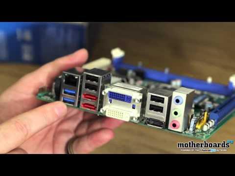 Intel DQ67EP Mini-ITX LGA 1155 Motherboard Unboxing