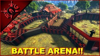 PVP GLADIATORIAL COMBAT & DINO ARENA BATTLES ON THE SONS OF ANARKY PATREON SERVER!