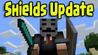 Minecraft 1.9 SHIELDS UPDATE RELEASED! Shield Combat Gameplay (15w33c)