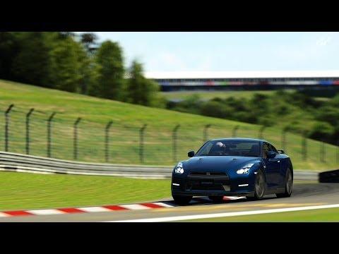 Gran Turismo 6 - Nissan GT-R Black Edition at Nürburgring Nordschleife (7:03.774)