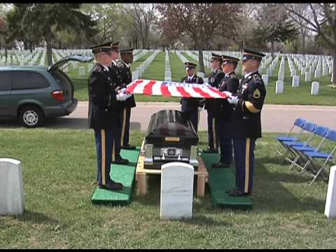 Funeral Honors Training for Casket Sequence