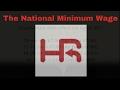 The National Minimum Wage April 2017