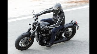 9. 19 Fast Facts about 2018 Triumph Bonneville Bobber Black