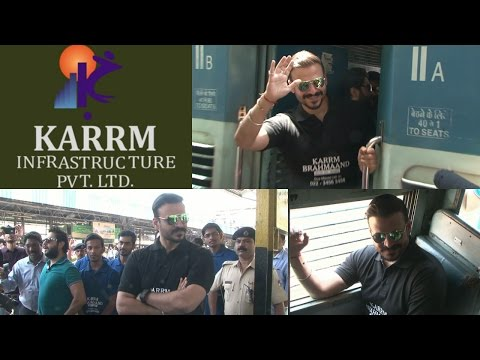 "Vivek Oberoi Launch His Affordable Housing Project ""KARRM BRAHMAAND"""