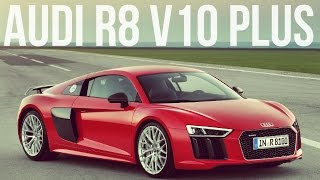 2016 Audi R8 V10 Plus Interior, Exterior And Drive