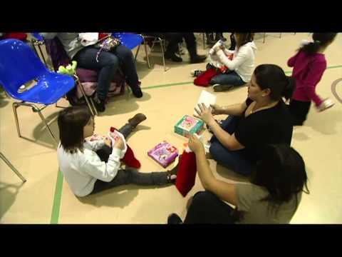 Blessing the Socks Off First Nations Children