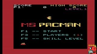 Ms. Pac-Man (Commodore VIC-20 Emulated) by ILLSeaBass