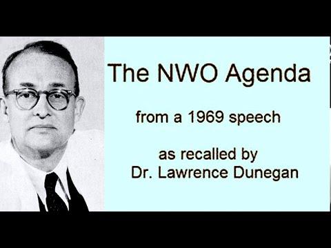 Dr Lawrence Dunegan 1969 -  New Order of Barbarians (4 tapes) - Co elity zaplanowały ludzkości
