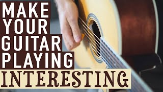 Download Lagu How to Make Your Guitar Playing Interesting Mp3