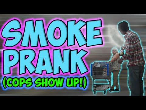 Smoke Prank (Cops Show Up)
