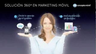 Concepto Móvil YouTube video